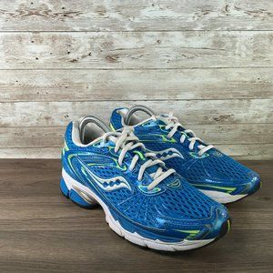 Saucony Ride 4 Womens 8.5 Blue White Sneaker